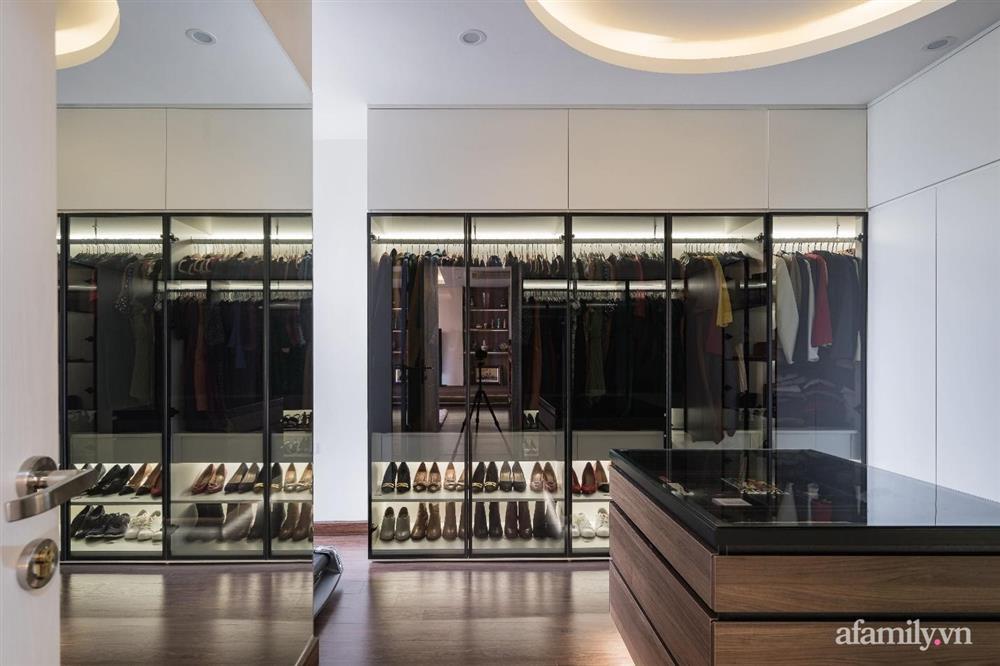 Mãn nhãn với cách thiết kế và bài trí không gian nội thất bên trong căn hộ 120m² ở Hà Nội-11