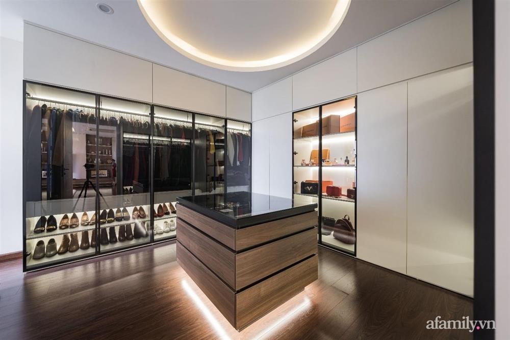 Mãn nhãn với cách thiết kế và bài trí không gian nội thất bên trong căn hộ 120m² ở Hà Nội-12