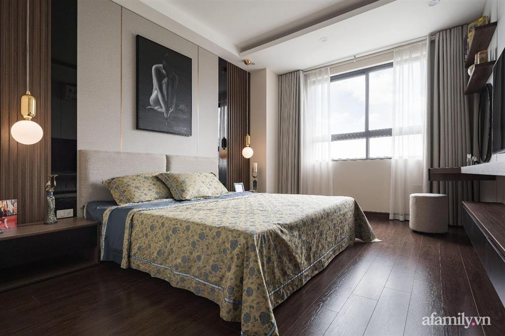Mãn nhãn với cách thiết kế và bài trí không gian nội thất bên trong căn hộ 120m² ở Hà Nội-13