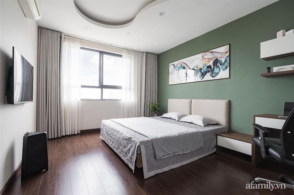 Mãn nhãn với cách thiết kế và bài trí không gian nội thất bên trong căn hộ 120m² ở Hà Nội-15
