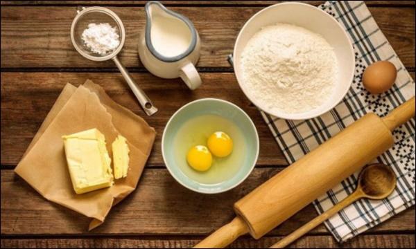 Mẹ đảm tự làm bánh mì bơ tỏi phô mai thơm ngon khó cưỡng,con có bữa sáng hấp dẫn ngày giãn cách-1