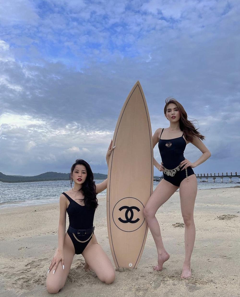 Nữ đại gia ở biệt thự 800 tỷ khoe ảnh tạo dáng bên ván Chanel từng khiến Chi Pu - Ngọc Trinh mê mẩn, vóc dáng U60 gây ngỡ ngàng-7