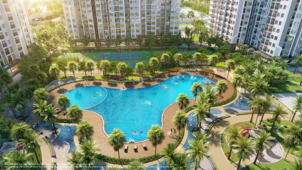 Mua nhà The Miami, hưởng trọn công viên nội khu phong cách Mỹ-1