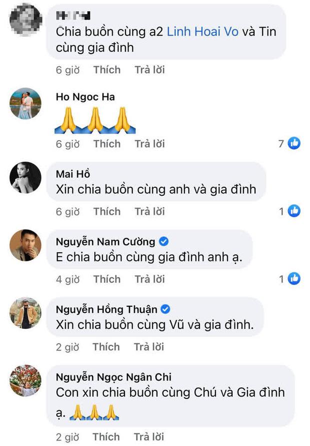Gia đình NS Hoài Linh xót xa nhận tin người thân qua đời giữa dịch, Nam Thư cùng dàn sao Việt đồng loạt chia buồn-3