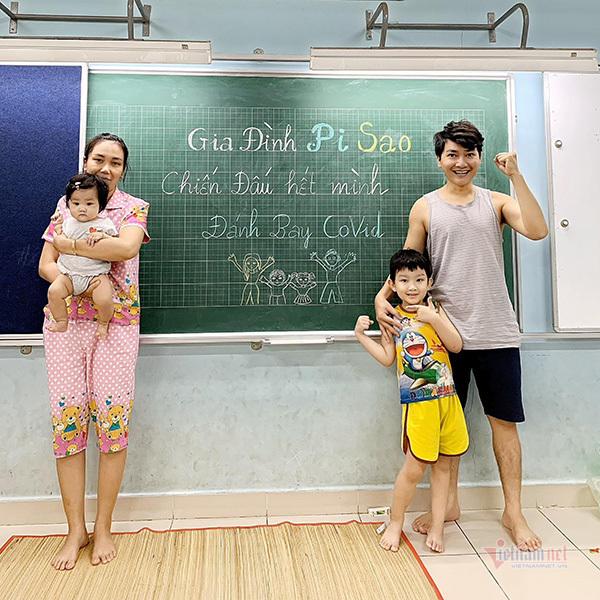 Diễn viên Minh Đức cùng vợ và 2 con nhiễm Covid-19-1