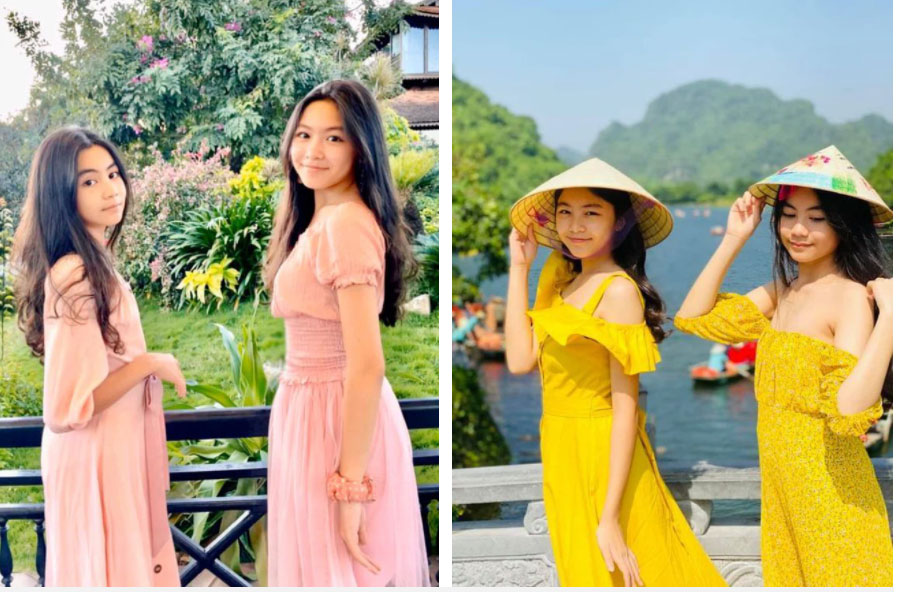Sinh nhật MC Quyền Linh nhưng 2 ái nữ tuổi trăng tròn chiếm trọn spotlight, nhất là chiều cao chuẩn Hoa hậu-4