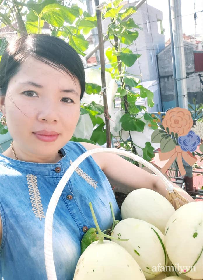 Cả năm không phải đi chợ mua rau quả nhờ làm vườn trên nóc nhà của mẹ đảm Hà Nội-20