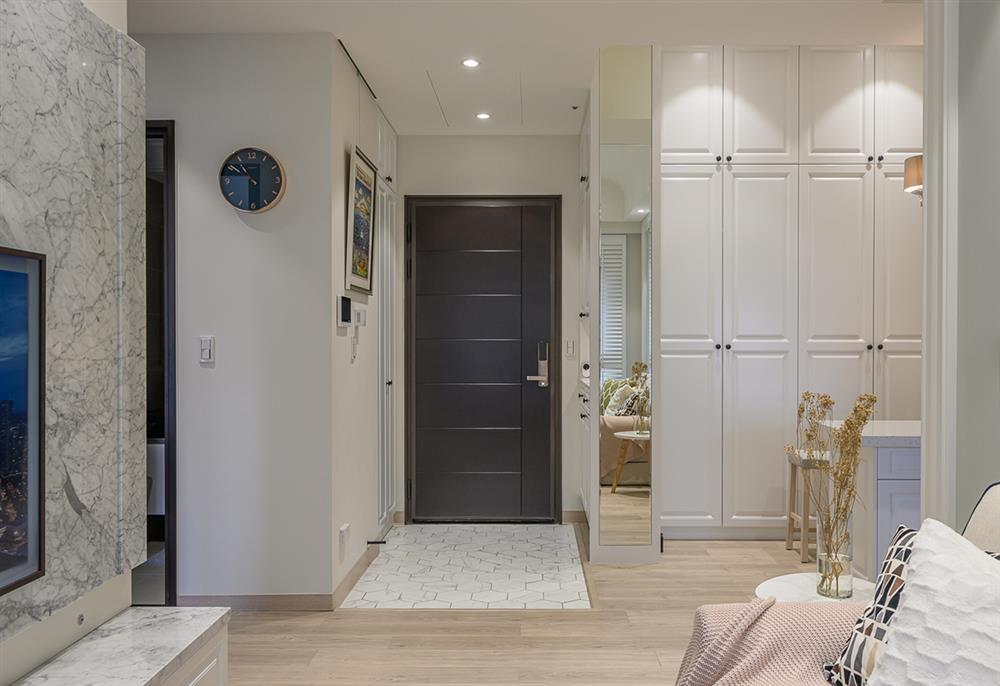 Căn hộ 48m² đầy đủ các khu vực chức năng đẹp hoàn hảo của vợ chồng trẻ-1