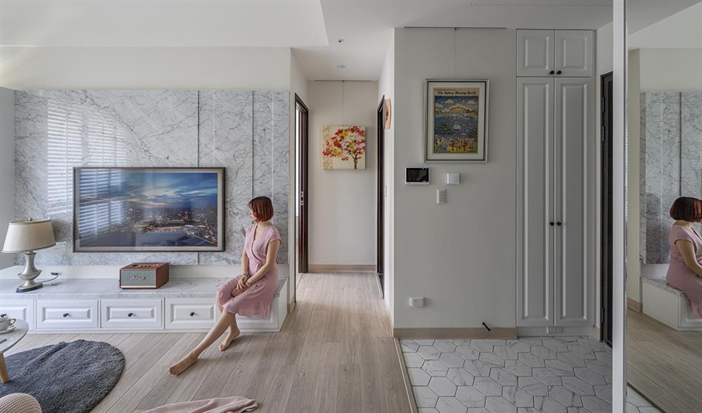 Căn hộ 48m² đầy đủ các khu vực chức năng đẹp hoàn hảo của vợ chồng trẻ-7