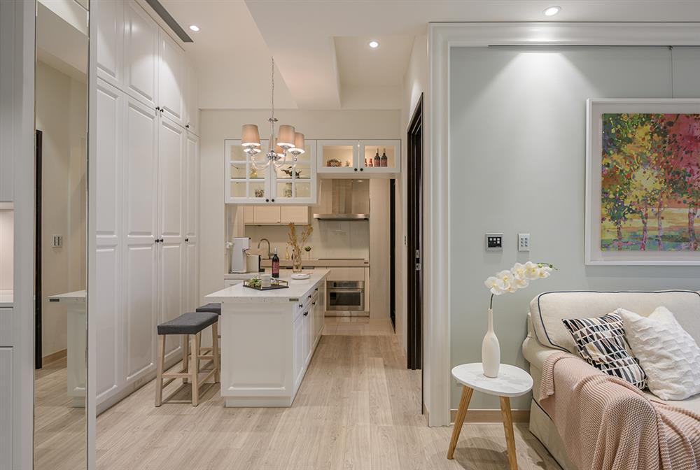 Căn hộ 48m² đầy đủ các khu vực chức năng đẹp hoàn hảo của vợ chồng trẻ-9