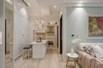 Căn hộ 48m² đầy đủ các khu vực chức năng đẹp hoàn hảo của vợ chồng trẻ
