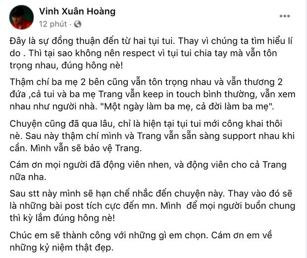 Giữa đêm, Lương Minh Trang buồn bã nói 1 câu khiến dân tình lo lắng hậu công bố ly hôn Vinh Râu-3