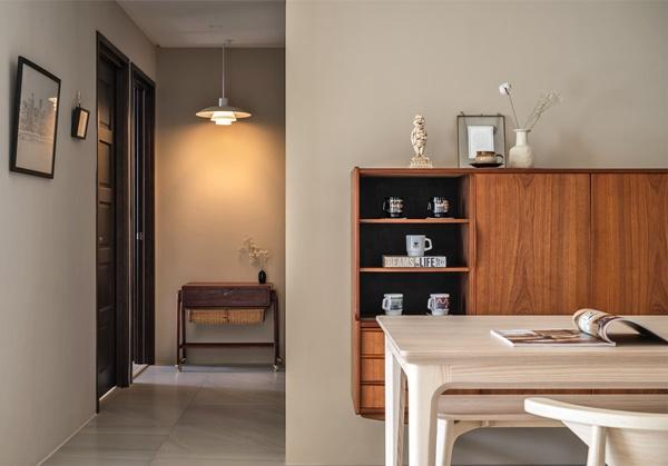 Mãn nhãn với căn hộ 36m² mang thiết kế cực thông thoáng, nội thất retro tinh tế dành cho vợ chồng trẻ-3