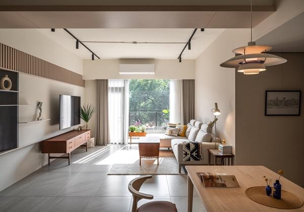 Mãn nhãn với căn hộ 36m² mang thiết kế cực thông thoáng, nội thất retro tinh tế dành cho vợ chồng trẻ-1