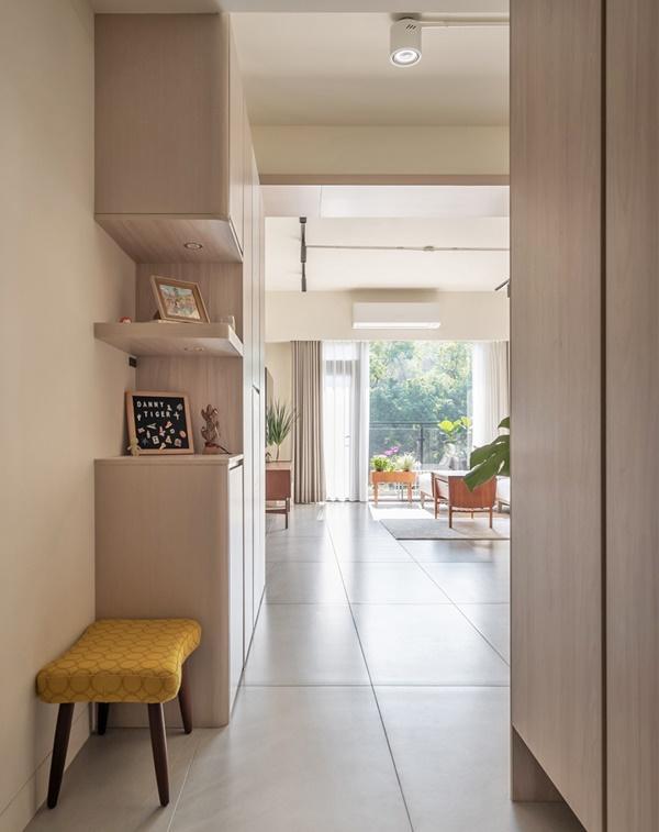 Mãn nhãn với căn hộ 36m² mang thiết kế cực thông thoáng, nội thất retro tinh tế dành cho vợ chồng trẻ-6