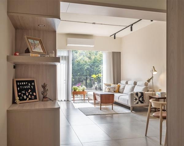 Mãn nhãn với căn hộ 36m² mang thiết kế cực thông thoáng, nội thất retro tinh tế dành cho vợ chồng trẻ-5