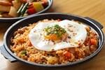 Đổi vị với cơm đảo kim chi kiểu Hàn Quốc dễ làm