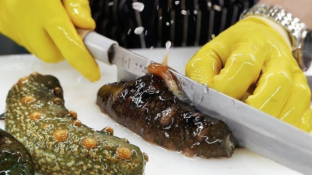 Lạ lùng loại nhân sâm biển càng xấu càng đắt, có giá tới 68 triệu đồng/kg-2