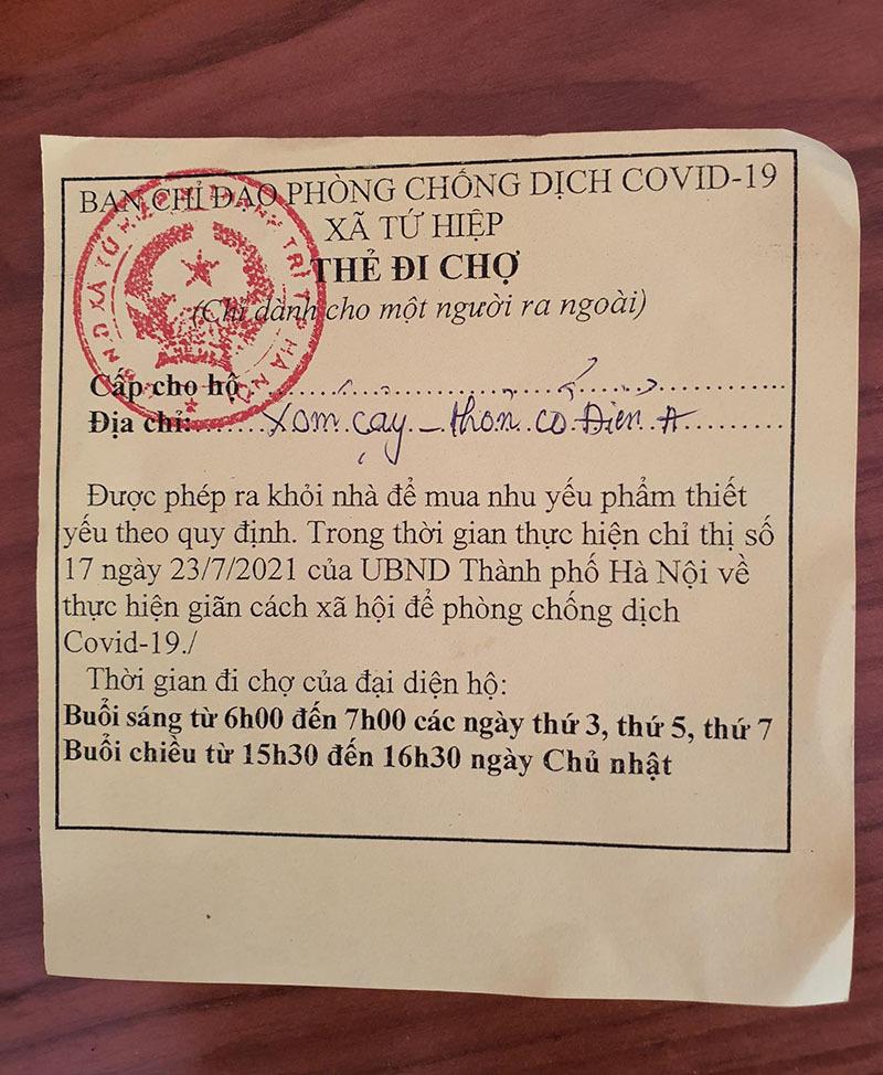 Nhận thẻ đi chợ, dân Hà Nội phân công, canh giờ mua mớ rau, con cá-2