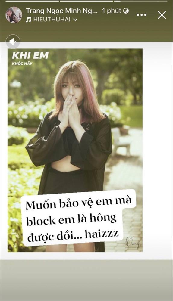 Vinh Râu quay xe gửi lời mời kết bạn sau khi block vợ cũ, Lương Minh Trang thốt lên 1 câu thấy rõ đang có biến-3