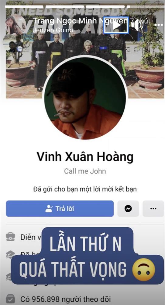 Vinh Râu quay xe gửi lời mời kết bạn sau khi block vợ cũ, Lương Minh Trang thốt lên 1 câu thấy rõ đang có biến-1