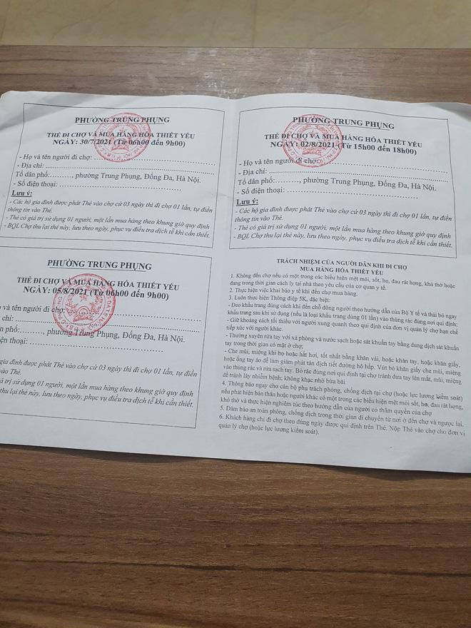 Dân mạng khoe thẻ đi chợ trong những ngày Hà Nội thực hiện giãn cách xã hội-5