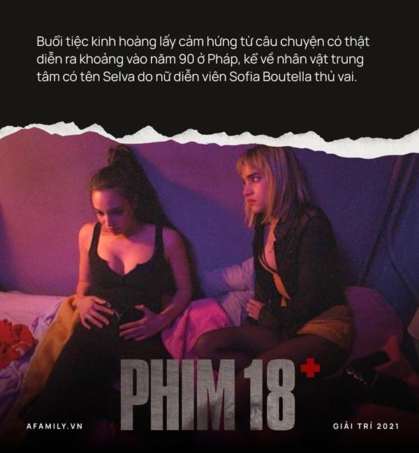 """Phim 18+ Buổi tiệc kinh hoàng"""": Tái hiện góc khuất suy đồi của giới trẻ, loạt cảnh thác loạn tập thể gây choáng váng-2"""