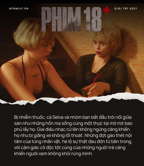 """Phim 18+ Buổi tiệc kinh hoàng"""": Tái hiện góc khuất suy đồi của giới trẻ, loạt cảnh thác loạn tập thể gây choáng váng-7"""
