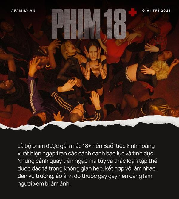"""Phim 18+ Buổi tiệc kinh hoàng"""": Tái hiện góc khuất suy đồi của giới trẻ, loạt cảnh thác loạn tập thể gây choáng váng-8"""