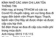 Sự thật về 8 số điện thoại hỗ trợ cấp cứu bệnh nhân Covid-19 ở TP.HCM