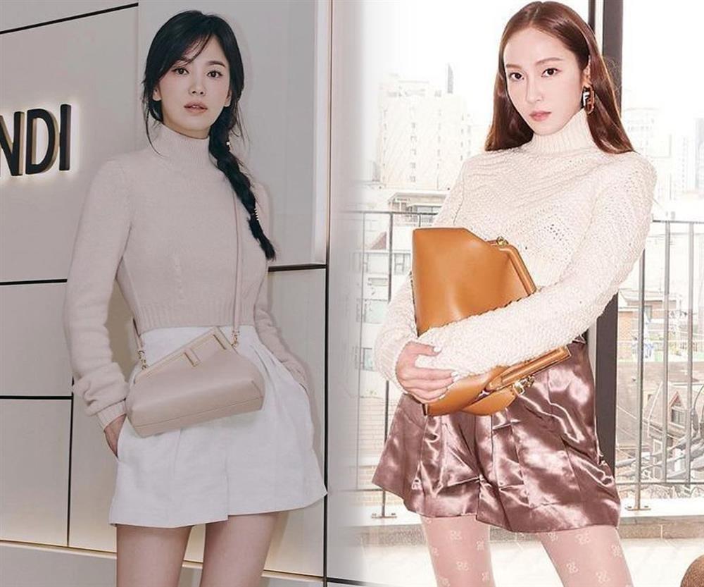 Song Hye Kyo hack tuổi tài tình đấy nhưng có qua mặt nổi Jessica thời thượng khi đụng bộ cánh na ná?-7