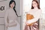 Song Hye Kyo hack tuổi tài tình đấy nhưng có 'qua mặt' nổi Jessica thời thượng khi đụng bộ cánh na ná?