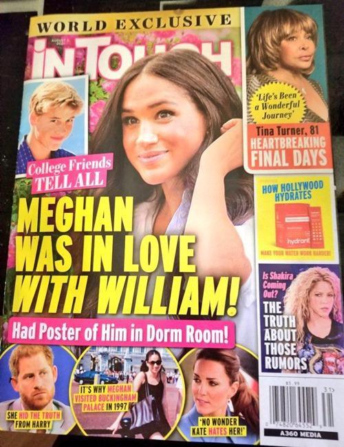 Tiết lộ mới gây sốc: Meghan Markle từng thích Hoàng tử William, dán ảnh anh chồng khắp phòng-1