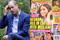 Tiết lộ mới gây sốc: Meghan Markle từng thích Hoàng tử William, dán ảnh anh chồng khắp phòng