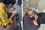 Hành trình bé 10 ngày tuổi vượt 1.500km về quê cùng bố mẹ: Được nhiều người giúp đỡ, về đến quê, vợ con khỏe em hạnh phúc lắm!-6