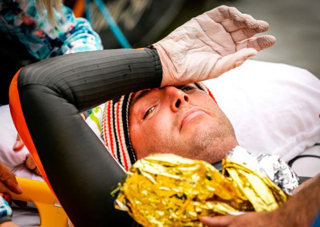 Không ai có thể tưởng tượng đây là bàn chân của VĐV bơi lội Olympic cùng câu chuyện nhói lòng đằng sau-12