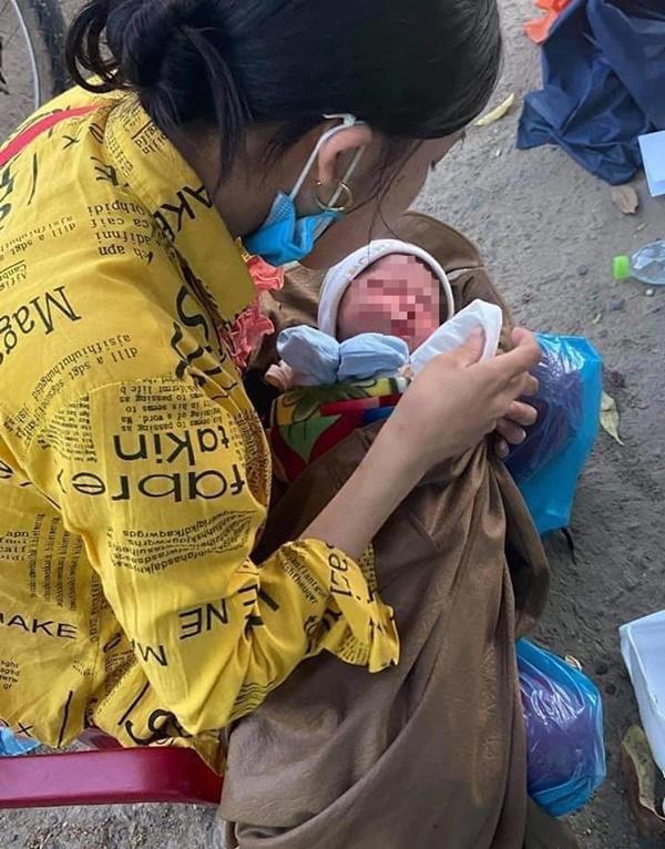 Hành trình bé 10 ngày tuổi vượt 1.500km về quê cùng bố mẹ: Được nhiều người giúp đỡ, về đến quê, vợ con khỏe em hạnh phúc lắm!-1