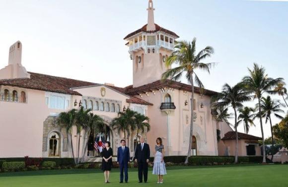 Cận cảnh biệt thự nguy nga nơi Donald Trump ở sau khi rời Nhà Trắng, riêng phòng khiêu vũ cũng được dát 7 triệu đô vàng lá-8