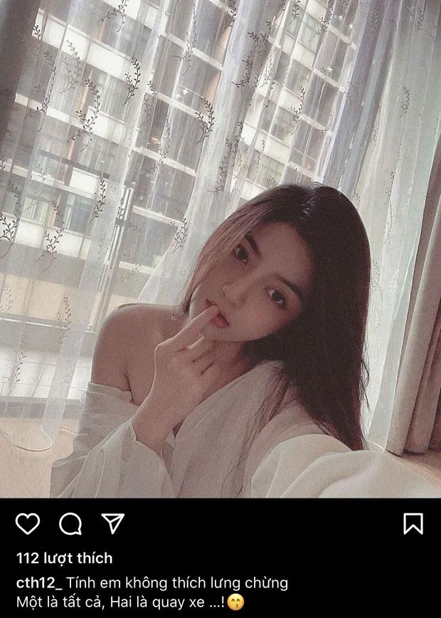 Bồ tin đồn Quang Hải mang ảnh vai trần hờ hững đi thả thính, viết gì mà netizen nghĩ ngay đến chàng cầu thủ?-2