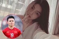 Bồ tin đồn Quang Hải mang ảnh vai trần hờ hững đi thả thính, viết gì mà netizen nghĩ ngay đến chàng cầu thủ?