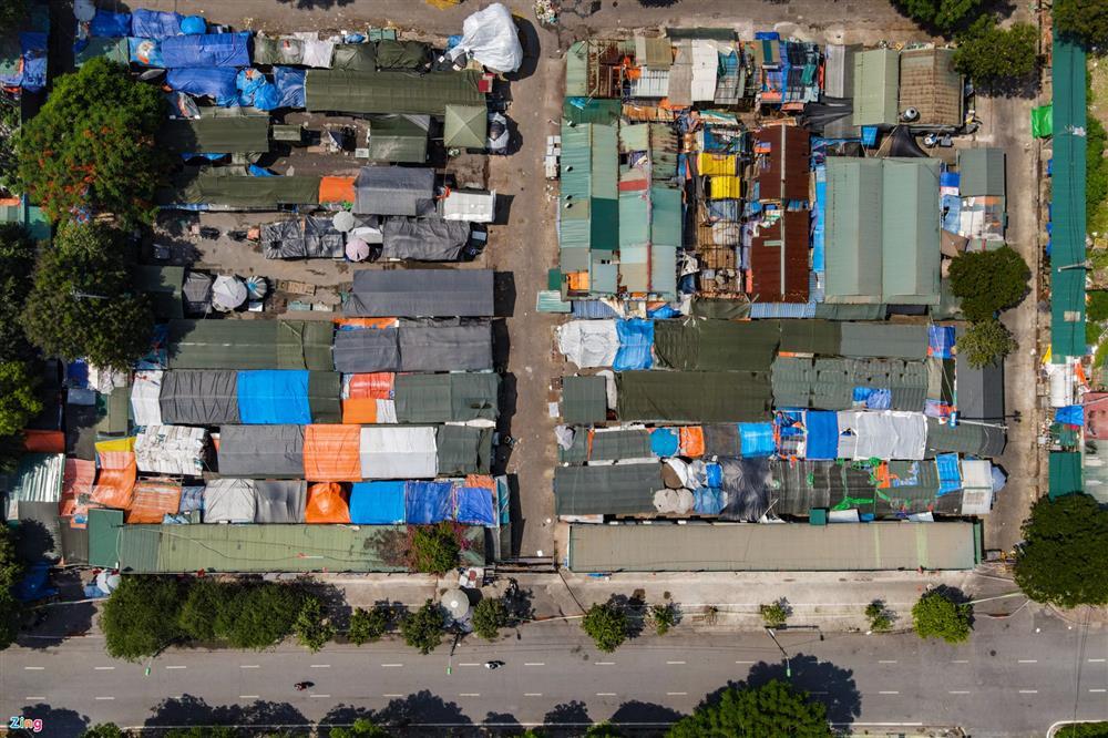 Nhiều chợ ở Hà Nội bị phong tỏa vì dịch Covid-19-3