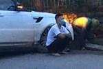 Cảnh tài xế trắng đêm chờ đón và hỗ trợ bà con đi từ miền Nam về quê tránh dịch Covid-19-13