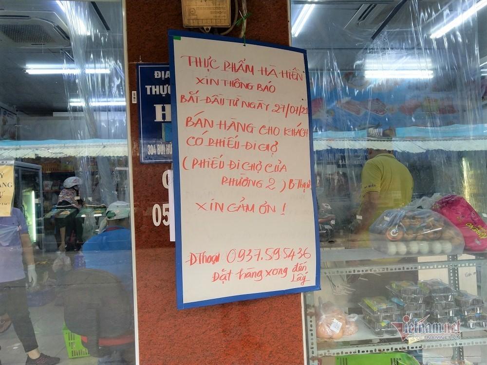 Chợ đóng cửa, nỗi lo khi siêu thị xuất hiện F0-2