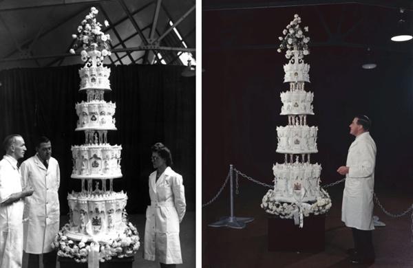 Điều ít biết về chiếc bánh cưới của Nữ hoàng Anh, ẩn chứa bí quyết đặc biệt sau 68 năm vẫn ăn được như thường-2