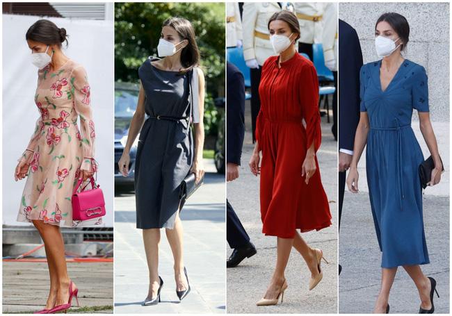 Hoàng hậu diện váy xẻ cao tít tắp còn phải lấy túi che chân: Đến cả Công nương Diana hay Meghan Markle cũng chưa bao giờ dám thử-1