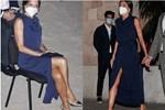 Hoàng hậu diện váy xẻ cao tít tắp còn phải lấy túi che chân: Đến cả Công nương Diana hay Meghan Markle cũng chưa bao giờ dám thử