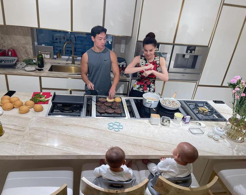 Cuộc sống của gia đình Hồ Ngọc Hà trong căn biệt thự 30 tỷ-5