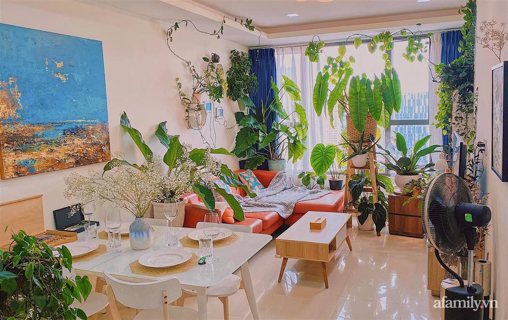 Căn hộ trên tầng cao xanh mát ấn tượng với đủ loại cây nhiệt đới của chàng trai Sài Gòn-3