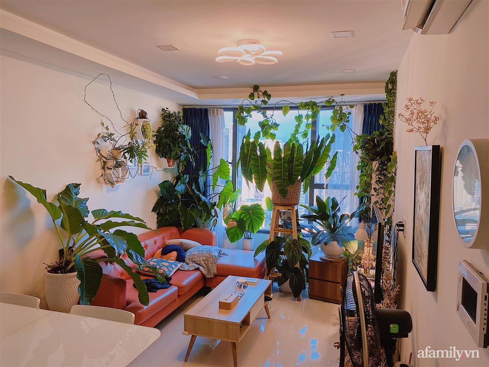 Căn hộ trên tầng cao xanh mát ấn tượng với đủ loại cây nhiệt đới của chàng trai Sài Gòn-4