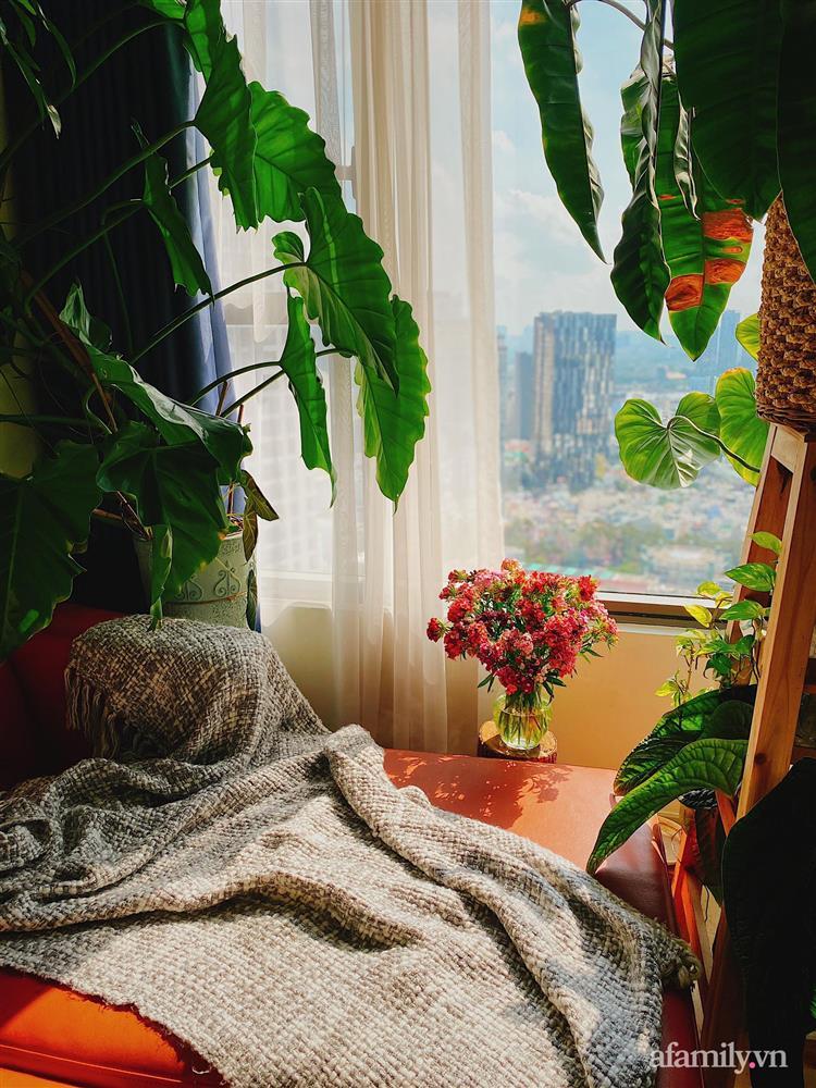 Căn hộ trên tầng cao xanh mát ấn tượng với đủ loại cây nhiệt đới của chàng trai Sài Gòn-7
